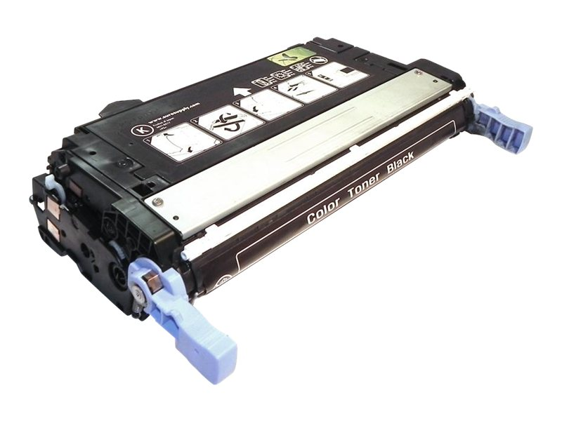 Ereplacements Q5950A Black Toner Cartridge for HP LaserJet 4700 Series, Q5950A-ER