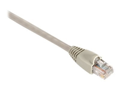 Black Box GigaTrue CAT6 550MHz UTP Snagless Channel Patch Cable, Beige, 15ft