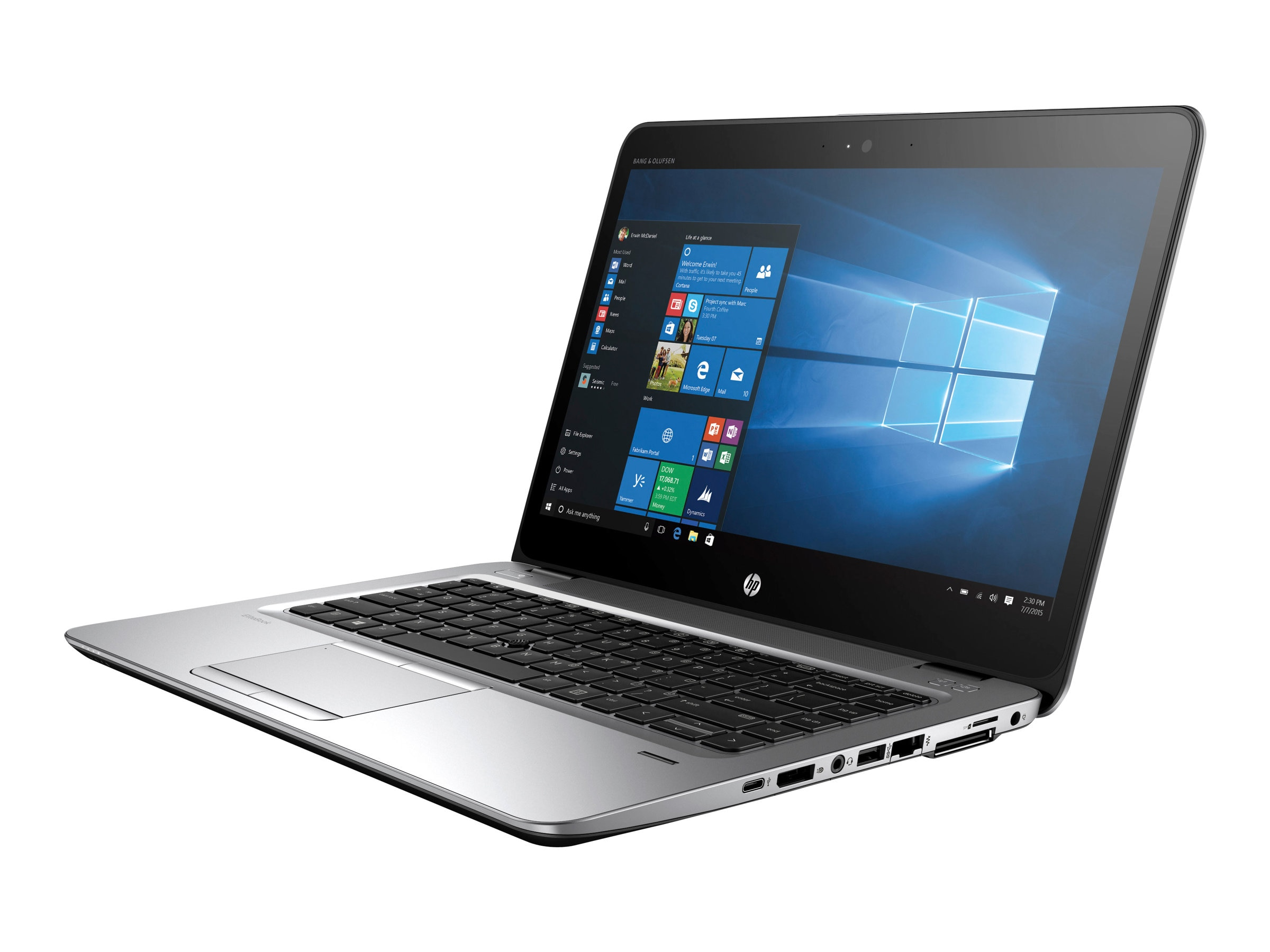 HP EliteBook 840 G3 2.6GHz Core i7 14in display, X9U25UT#ABA