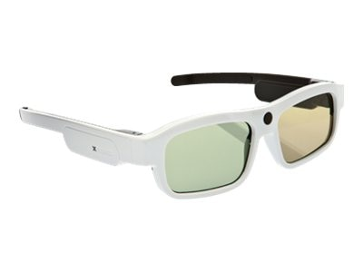 Xpand YOUniversal Medium 3D Glasses, White, X104MX1, 13923921, Monitor & Display Accessories