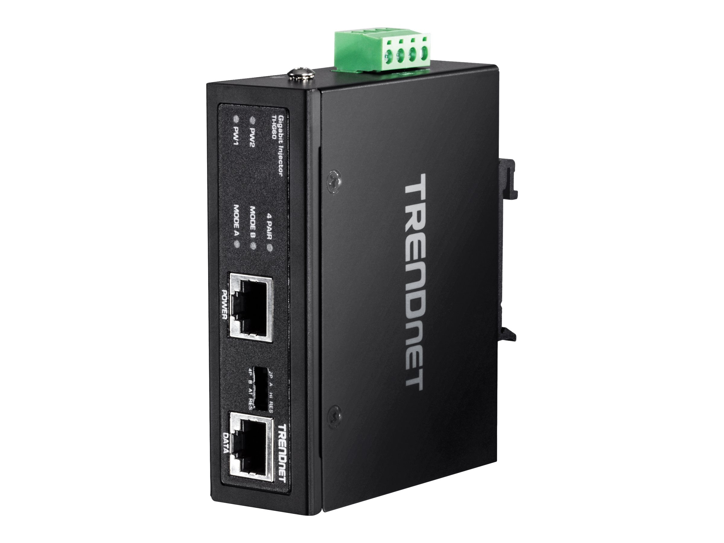 TRENDnet Hardened Industrial 60W Gigabit PoE+ Injector