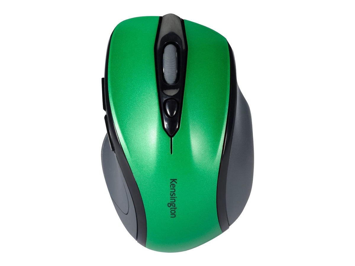 Kensington Pro Fit Mid-Size Wireless Mouse, Emerald Green, K72424WW