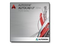 Autodesk Corp. AutoCAD LT for MAC 2014 Government New SLM, 827F1-0551K5-1001, 17567177, Software - CAD