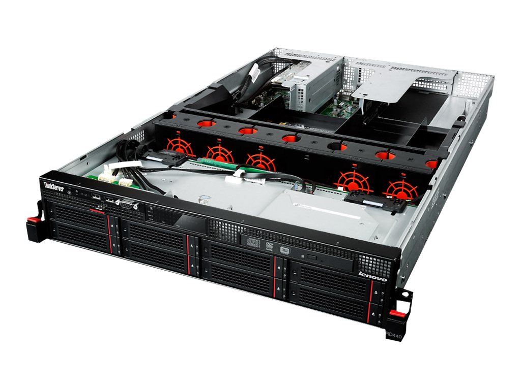 Lenovo ThinkServer RD440 Intel 1.7GHz Xeon, 70B20000US, 16756785, Servers