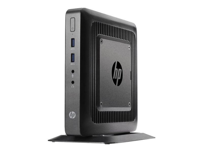 HP t520 Flexible Thin Client AMD DC GX-212JC 1.2GHz 4GB RAM 16GB Flash GbE agn BT WE864, G9F14AT#ABA, 17666255, Thin Client Hardware