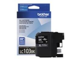 Brother Black LC103BK Innobella High Yield (XL Series) Ink Cartridge for MFC-J4510DW, LC103BK, 14714856, Ink Cartridges & Ink Refill Kits