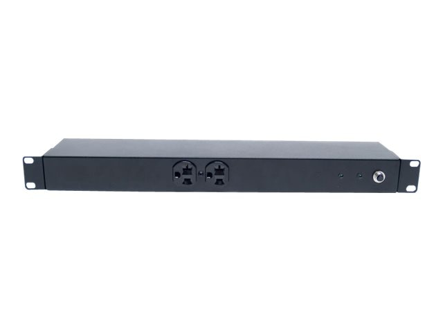 Minuteman OES Series PDU 120VAC 1U 0U NEMA 5-15 20R (2) Front (8) Rear Outlets Surge Protected