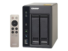 Qnap TS253A SATA 2-Bay Professional Grade Intel QuadCore 1.6G 4GB NAS, TS-253A-4G-US, 31069895, Network Attached Storage