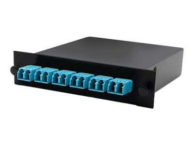 ACP-EP Cassette For 3-Bay 1 Unit Panel w 1MPO IN 6LC DUPLEX OUT MMF OM3, ADD-3BAYC1MP6LCDM3, 18111075, Patch Panels
