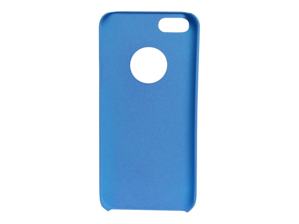 V7 Sand Finish Semi-Flexible PC Cover Case for iPhone 5, Metro Blue, PA19MBLU-2N, 15289169, Carrying Cases - Other