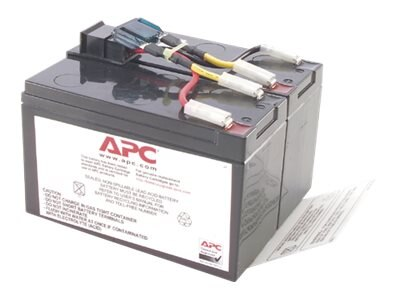 APC Replacement Battery Cartridge #48 for SUA750, SUA750I, SUA750US, RBC48