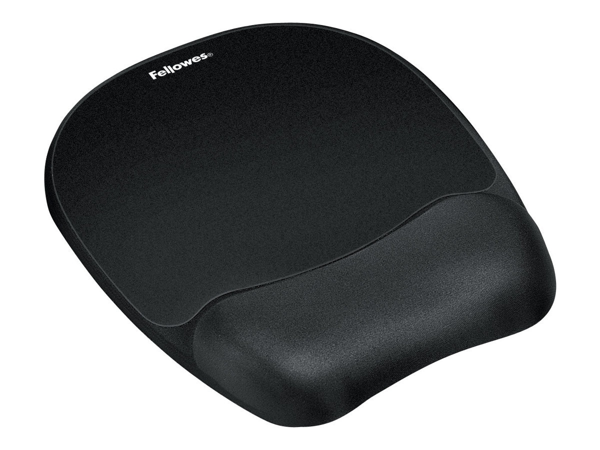 Fellowes Memory Foam Mousepad Black, 9176501, 11767813, Ergonomic Products