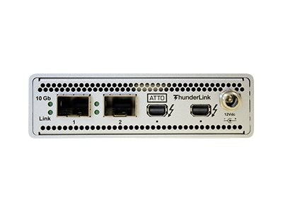 Atto 2PT 20GB TBOLT2 TO 2PT 10GB ETH LC SFP+, TLNS-2102-D01, 21250148, Network Transceivers