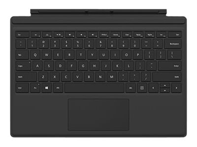Microsoft Surface Pro 4 Type Cover, Black, R9Q-00001, 30734267, Keyboards & Keypads