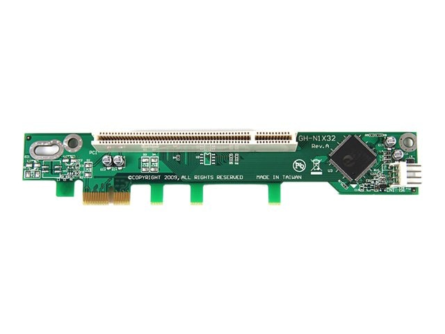 StarTech.com PCI Express to PCI Riser Card x1 for Intel 1U IPC Server