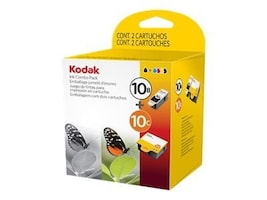 Kodak Black 10B & Color 10C Ink Cartridges (Combo Pack), 8367849, 11142901, Ink Cartridges & Ink Refill Kits