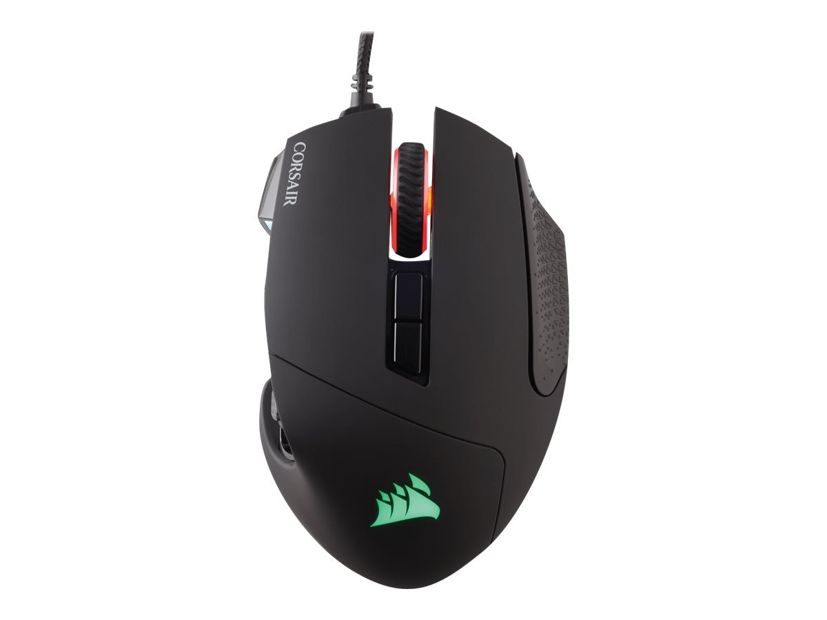 Corsair Scimitar RGB Gaming Mouse, Black, CH-9000231-NA