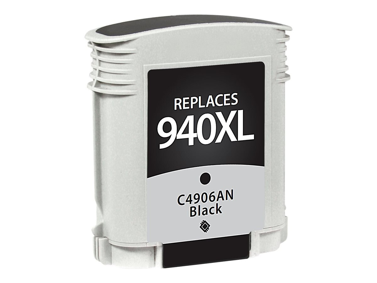 V7 C4906AN Black Ink Cartridge for HP Officejet, V7WC940XLB