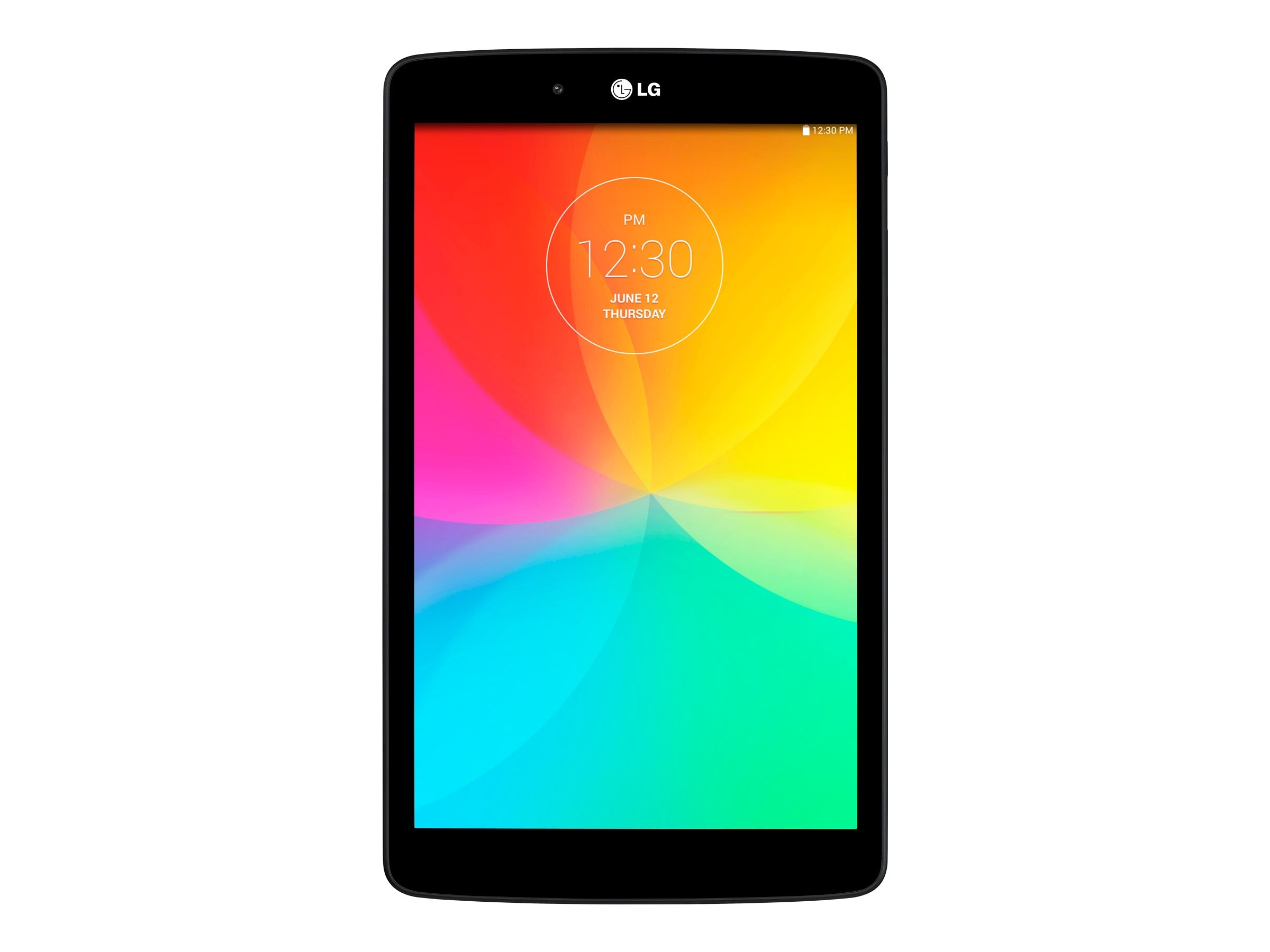 LG G Pad Snapdragon 400 1.2GHz 1GB 16GB abgn BT 2xWC 8 WXGA MT Android 5.0 Black, LGV480.AUSABK, 23729401, Tablets