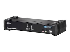 Aten Dual-Link DVI KVM Switch, 2-Port, CS1782A, 12434990, KVM Switches