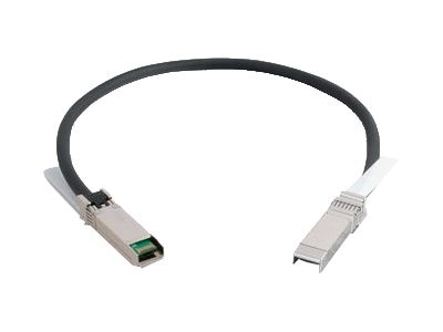 C2G SFP+ Active Copper Twinax Cable, SFF-8432 to SFF-8432, 30AWG, .5m