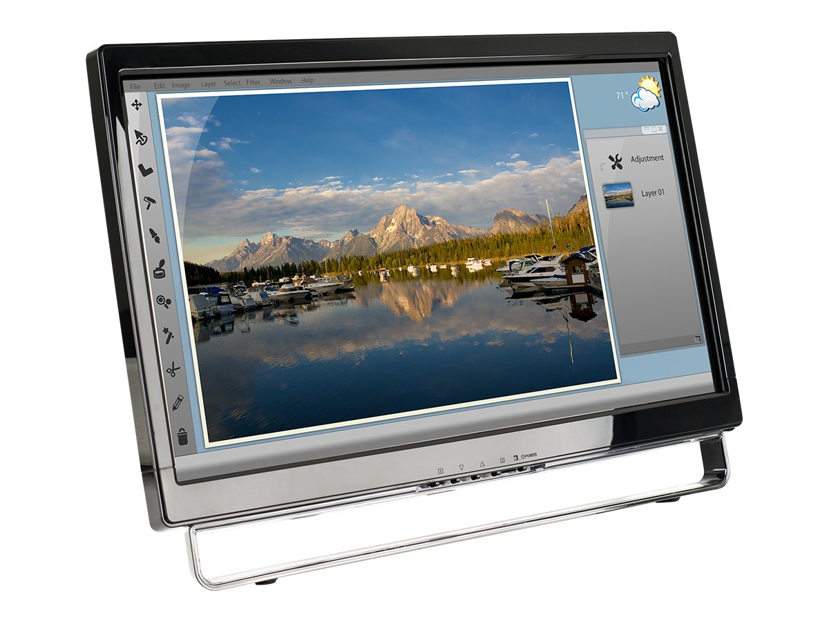 Planar 22 PXL2230MW LED-LCD Touchscreen Monitor, 997-7039-00