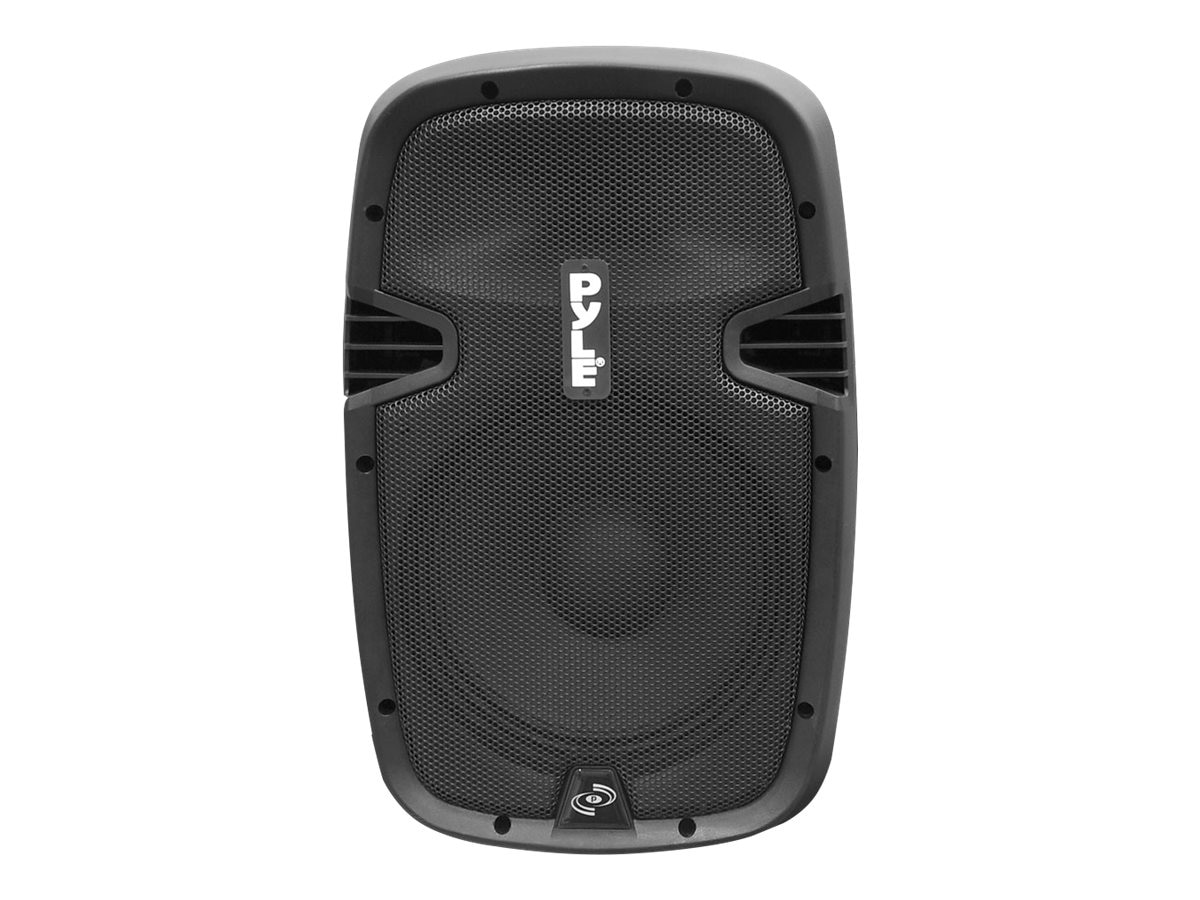 Pyle 10 700 Watt Powered Two-Way Speaker with MP3 USB SD Bluetooth Streaming & Record Function, PPHP1037UB