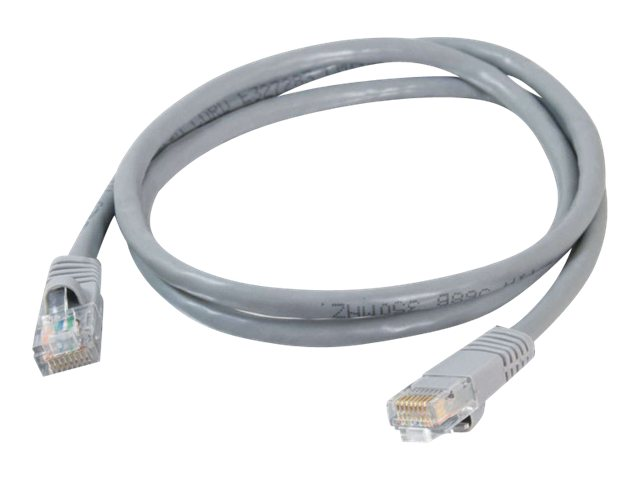 C2G Cat5e Snagless Unshielded (UTP) Network Patch Cable, Gray, 14ft, 15205, 165658, Cables