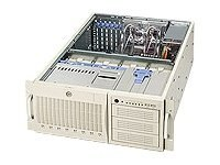 Supermicro Chassis, 4U, Tower, 2Xeon, 800MHz, EATX, 6 PCI, IDE 8HD Bays, 3x5.25, No CD FDD, 3xRed 760W PS-Beige, CSE-743I-R760, 5411626, Cases - Systems/Servers