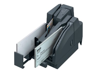 Epson TM-S2000 Check Scanner USB 110dpm 1-Pocket 100-Check ADF, A41A268031, 24746296, Magnetic Stripe/MICR Readers