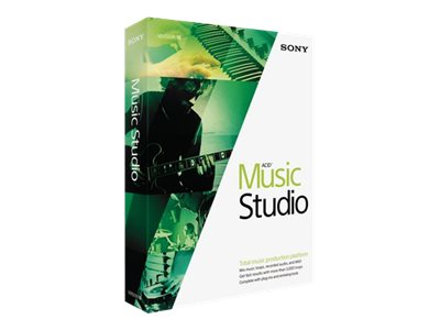 Sony Corp. ACID Music Studio 10, MSAMST10000, 17979008, Software - Music, Recording & Sound Editing