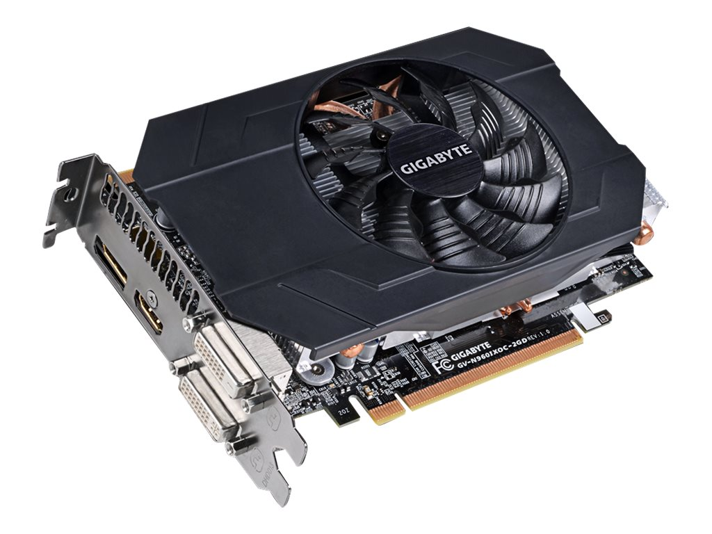 Gigabyte Tech GeForce GTX 960 PCIe Overclocked Graphics Card, 2GB GDDR5, GV-N960IXOC-2GD, 18396592, Graphics/Video Accelerators
