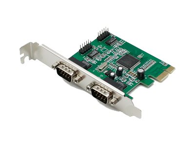ACP-EP 4-port RS-232 Serial Card PCIe x1 Controller Serial HBA W Dual Brackets