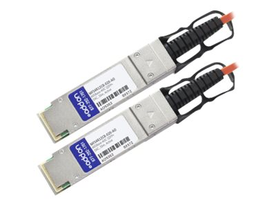 ACP-EP Mellanox Compatible 40GBase-AOC QSFP+ to QSFP+ Direct Attach Cable, 20m