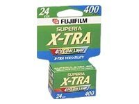 Fujifilm Fuji Superia X-Tra 35mm Color Print Film 400, 15719759, 10710639, Camera & Camcorder Accessories