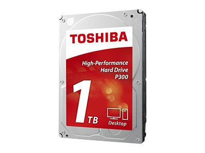 Toshiba 1TB P300 3.5 Internal Hard Drive, HDWD110XZSTA, 29491229, Hard Drives - Internal