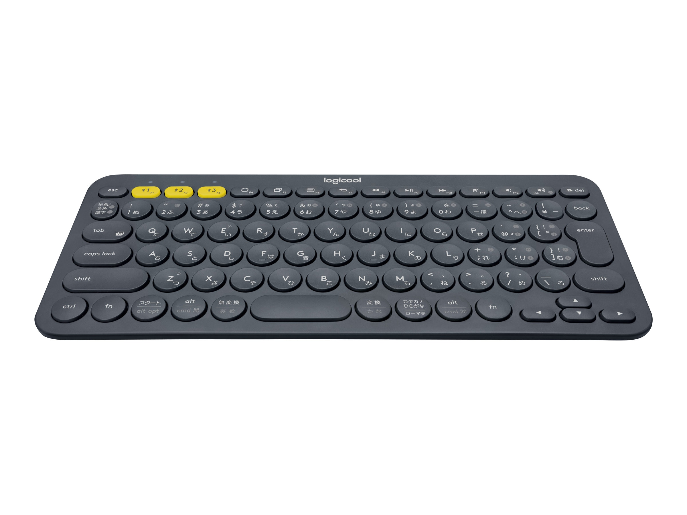 Logitech K380 Multi-Device Bluetooth Keyboard, Black, 920-007558, 31076711, Keyboards & Keypads