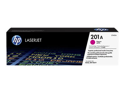 HP 201A Magenta Original LaserJet Cartridge w  JetIntelligence, CF403A, 19055335, Toner and Imaging Components