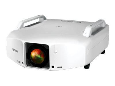 Epson PowerLite Pro Z11000WNL WXGA 3LCD Projector, 11000 Lumens, White, V11H608920, 17524169, Projectors