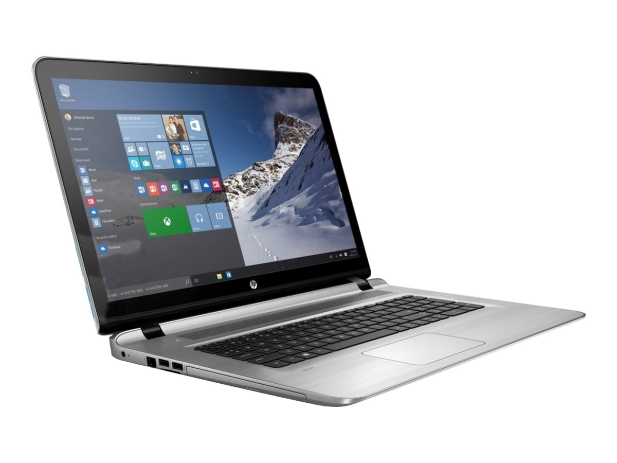 HP Notebook PC Core i7-6500 12GB 1TB 17 W10, P4W26UA#ABA