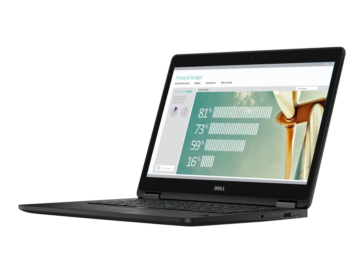 Dell Latitude E7270 Core i5-6300U 2.4GHz 4GB 128GB SSD ac BT WC 4C 12.5 HD W10P64, VK2KM