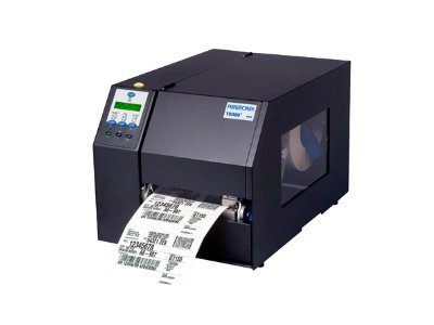 Printronix T5308R TT 300dpi 8 VGL ZPL IPDS Ethernet Parallel Serial USB Printer w  Cutter & Tray