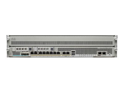 Cisco ASA 5585-X Chassis w  SSP10-8GE 2GE Management 1 AC 3DES AES