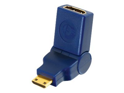 C2G HDMI (M) Mini Port Saver Adapter, Blue, 40434, 8685155, Adapters & Port Converters