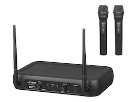Pyle VHF Fixed Frequency Wireless Mic System w  (2) Handheld Mics, PDWM2135, 33157063, Microphones & Accessories