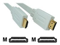 Micro Connectors Flat HDMI Cable (M-M), 6ft, M05-191, 12435669, Cables