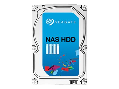 Seagate 6TB NAS SATA 6Gb s 3.5 Internal Hard Drive - Rescue Model