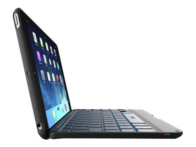 Zagg Folio BT Keyboard for iPad mini, Black, IM2ZFN-BB0