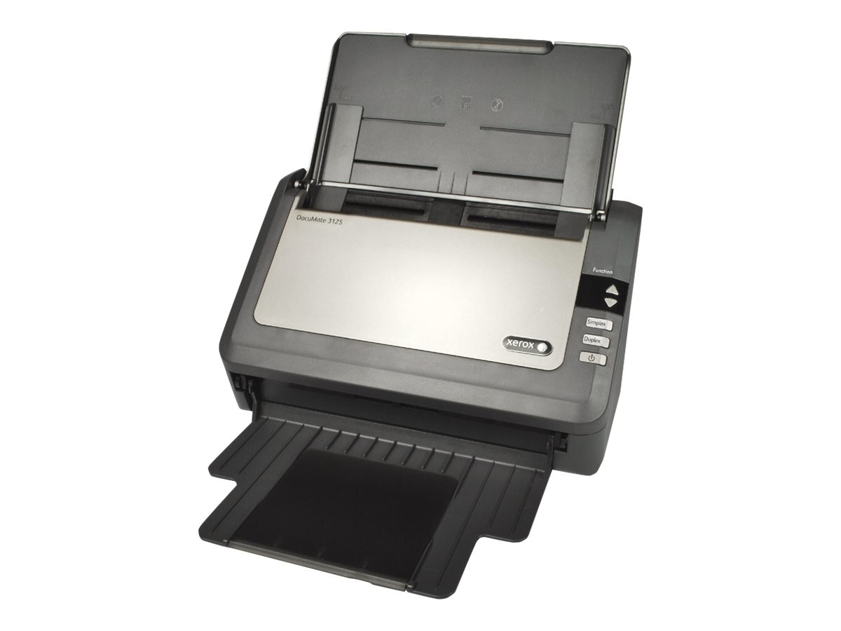 Xerox DocuMate 3125 Color Sheetfed Scanner 50-page ADF 25ppm, XDM31255M-WU, 13218973, Scanners