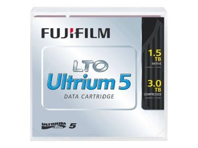 Fujifilm 1.5TB 3TB LTO-5 Tape Cartridge, 16008030, 11701380, Tape Drive Cartridges & Accessories